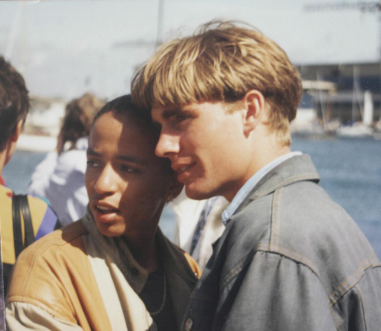 Cathy och Martin träffades som tonåringar i Karibien.