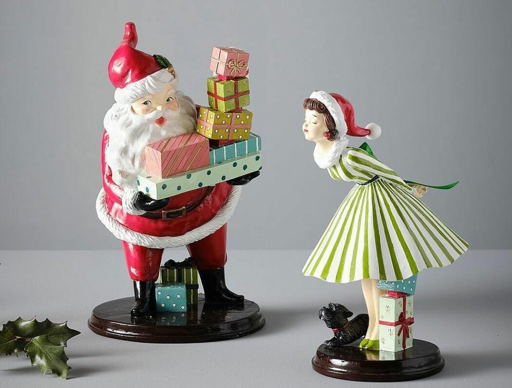 Tomte och tomteflicka Santas Kiss, från Jotex