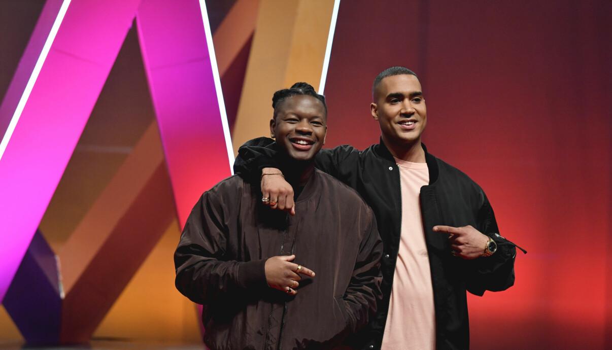 OVÖ eller Jaouli Akofely och Nicky Osenius Kouakou är två av artisterna i Melodifestivalen 2020.