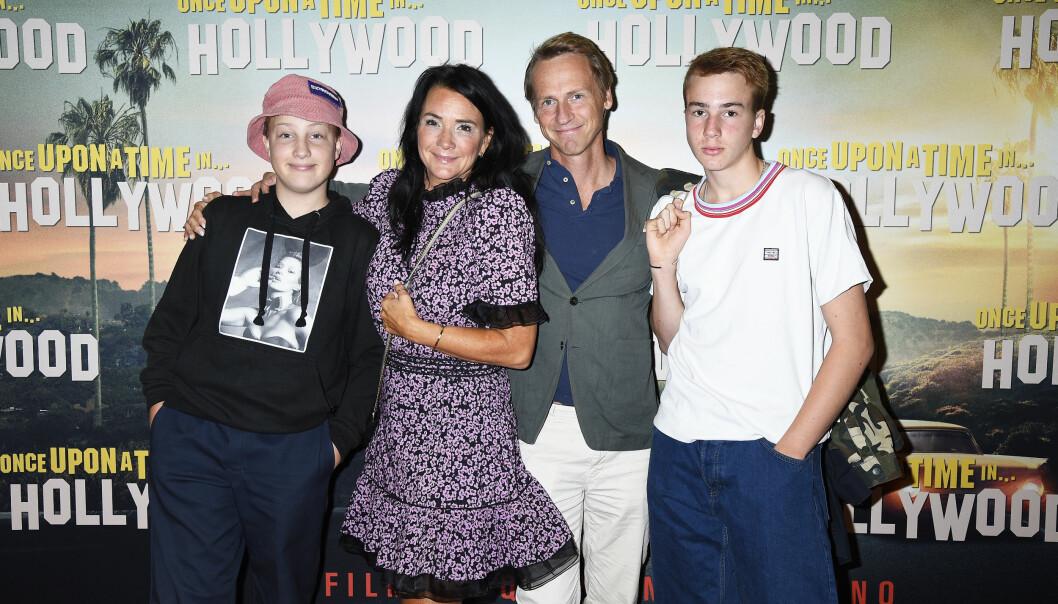 Sofia Wistam och Magnus Wistam är föräldrar till Texas och Lennox.