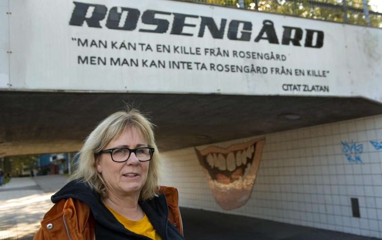 Sigrun Sigurdsson brinner för att hjälpa Rosengårds ungdomar.