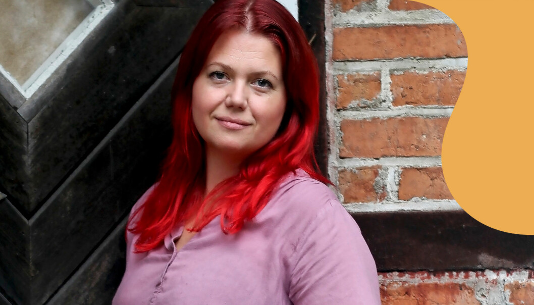 Porträtt av Nina Brink som berättar hur hon lyckades bryta sig loss från Jehovas vittnen.