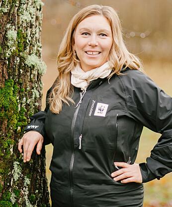 Porträtt av Linda Berglund som är senior rådgivare på WWF.