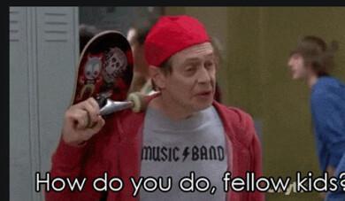 Steve Buscemi i tv-showen 30 Rock.