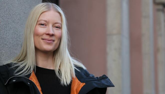 """""""Bergsklättringen har gjort mig till en bättre människa"""", säger Emma Svensson. Foto: Frida Funemyr."""
