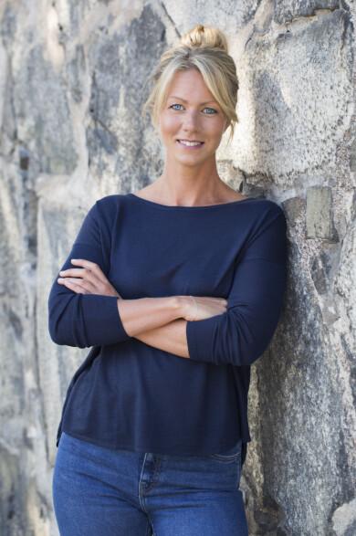 Näringsfysiolog Kristina Andersson.