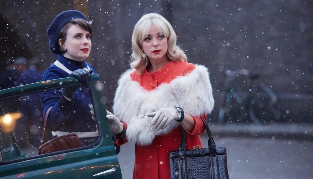 Två av barnmorskorna i Julspecialen som sänds i SVT i december.