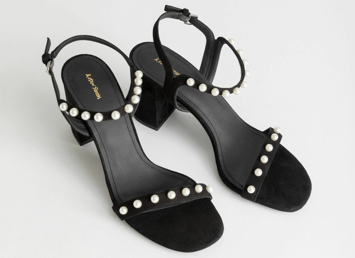Sandaletter med pärlor, från & Other Stories