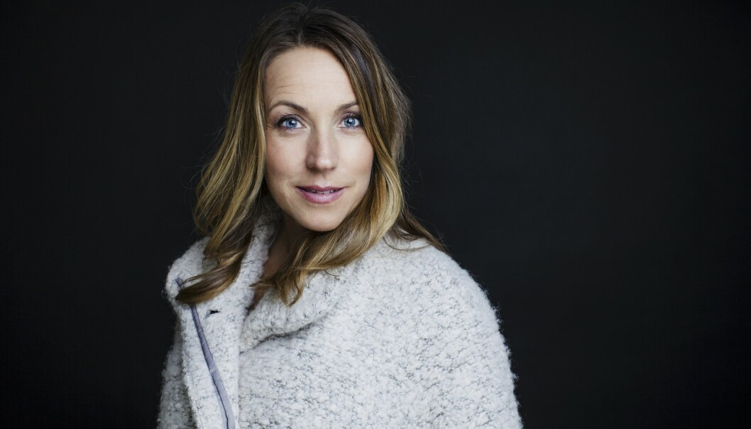 Porträtt av Anna Bennich som är psykolog och psykoterapeut.