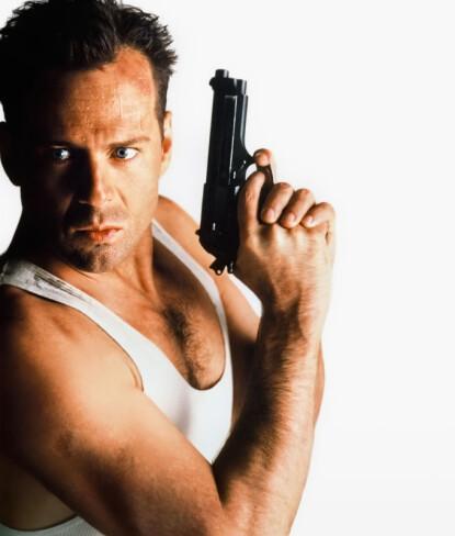Bruce Willis som John McClane i i <i>Die hard</i>