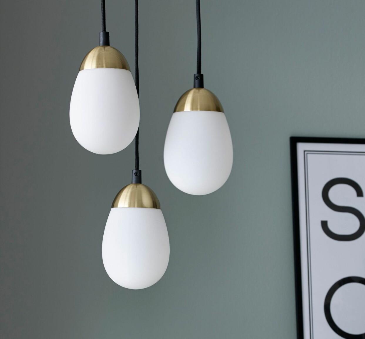 Hängande ljusglober från Ellos Home