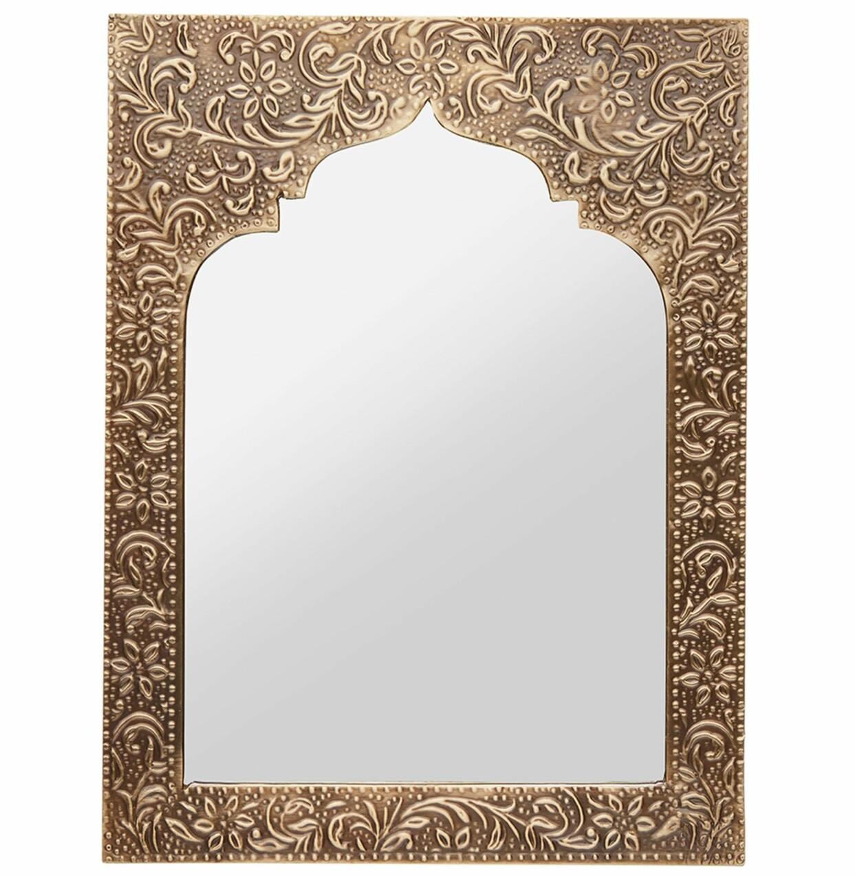 Marockansk spegel från Indisak