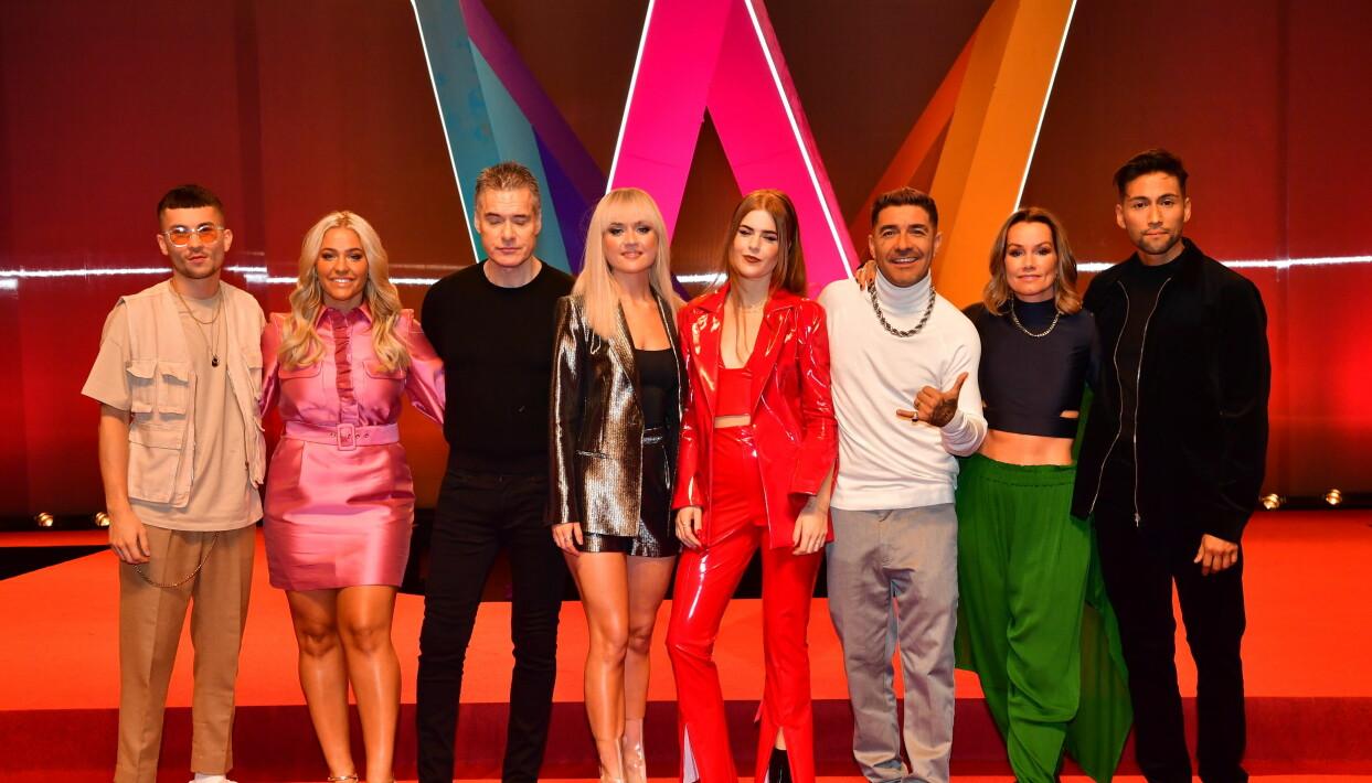 Alla artisterna i deltävling 2 i Melodifestivalen 2020.