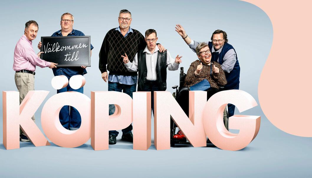 Linda Hammar och hennes kompisar kommer i nya tv-serien Välkommen till Köping.