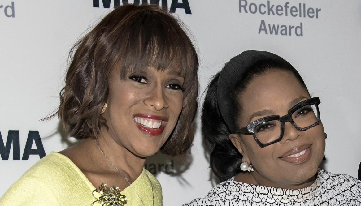 Oprah Winfrey och bästa vännen Gayle King.