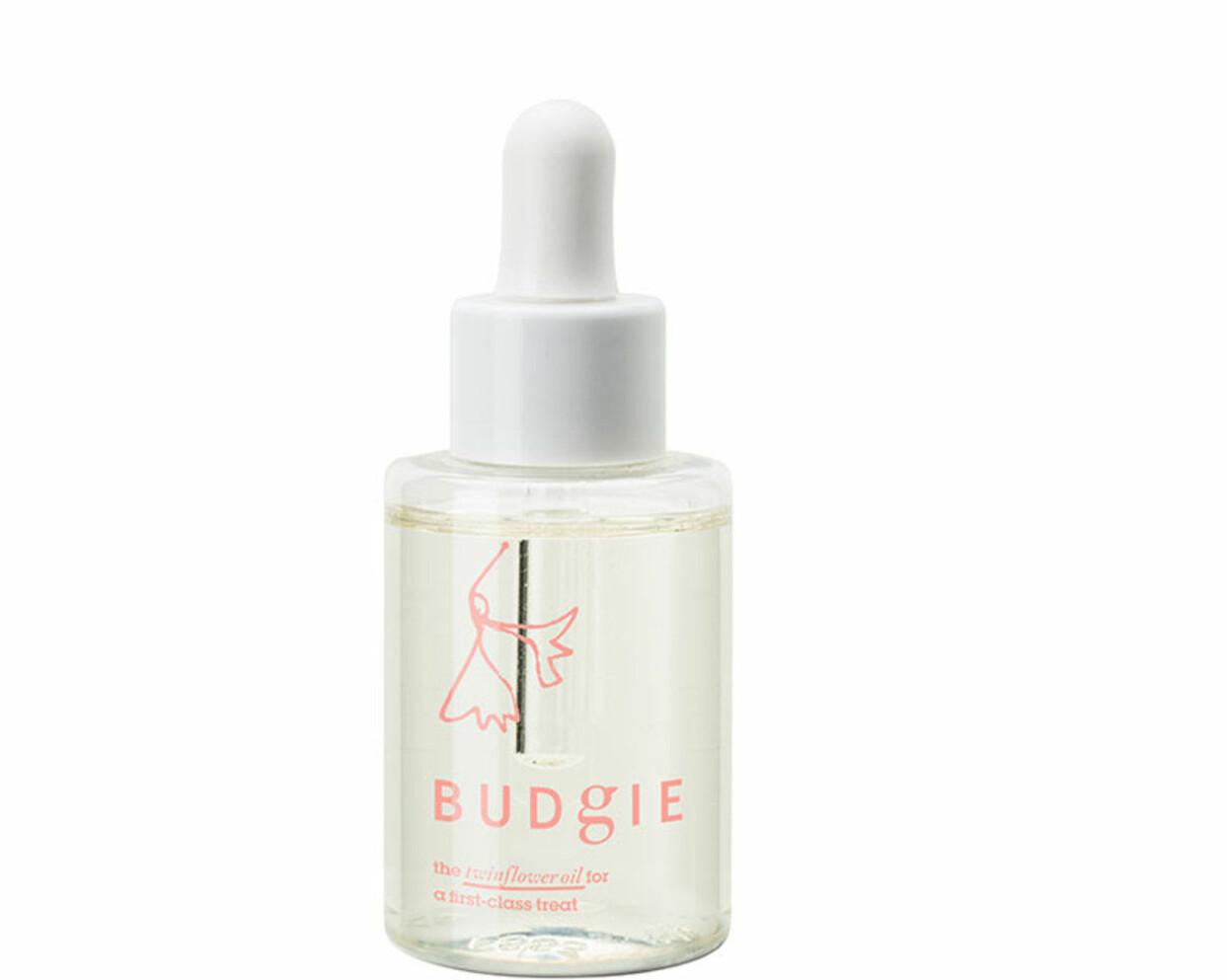 Hårolja från Budgie