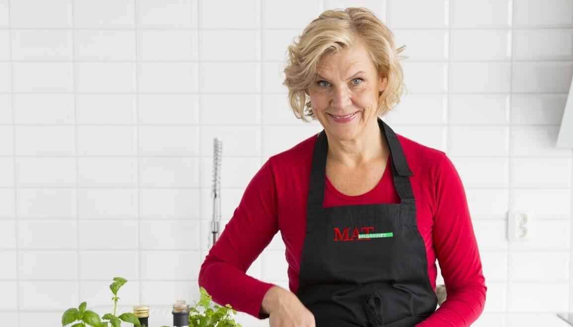 Maud Onnermark väljer ut sina favoritprylar i köket.
