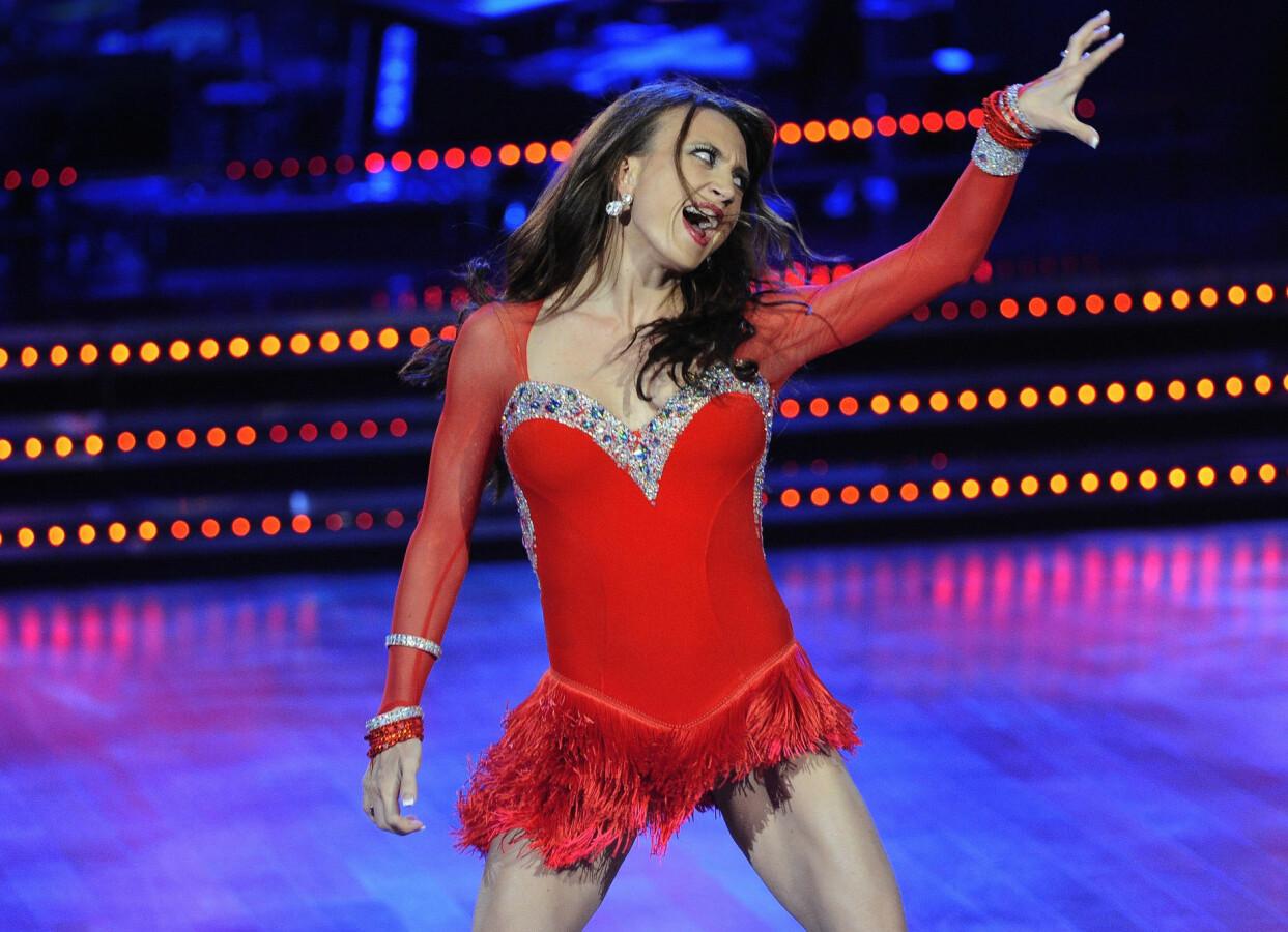 Camilla Läckberg var med i Let's Dance 2012.