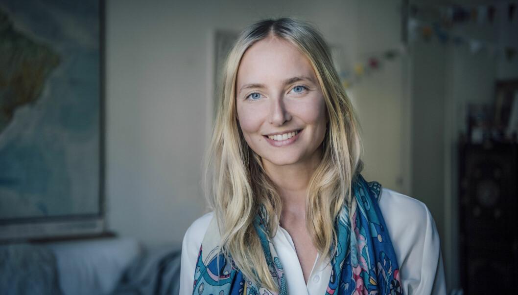 Katarina Blom är leg psykolog och författare till boken Lycka på fullt allvar.