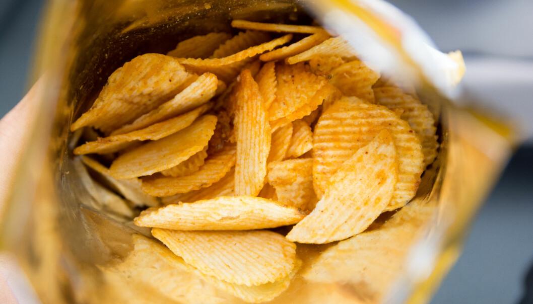 Chips i chipspåse.
