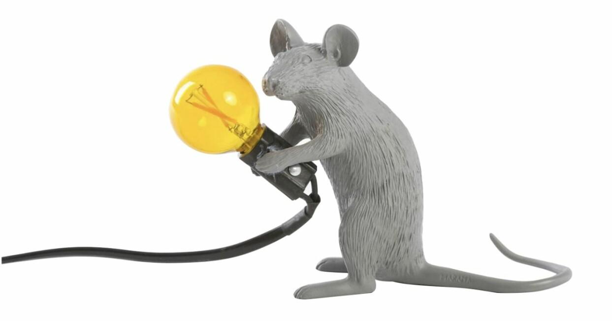 Lampa i form av en råtta, från Seletti