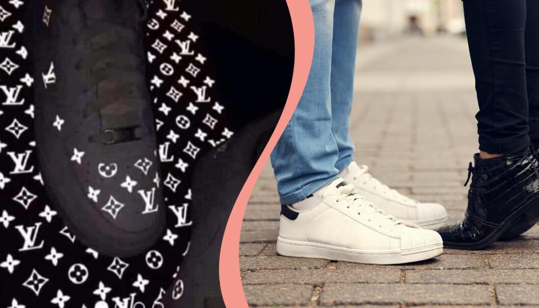 Skorna som delar världen. Är de svarta eller vita?