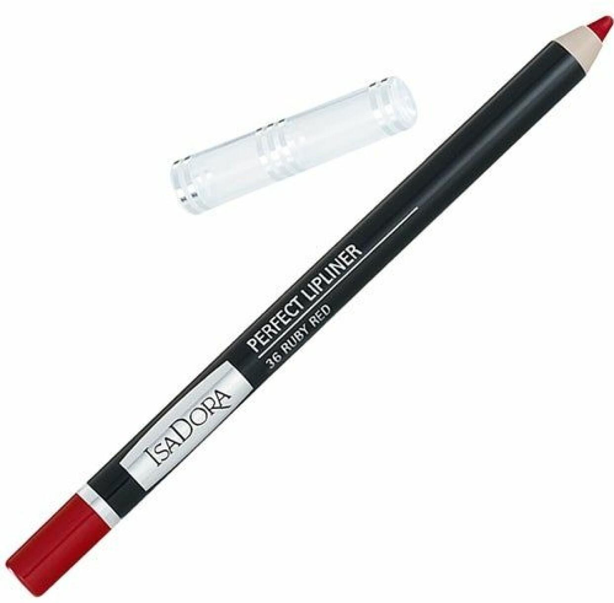 Perfect Lipliner i färgen 36 Ruby Red från IsaDora