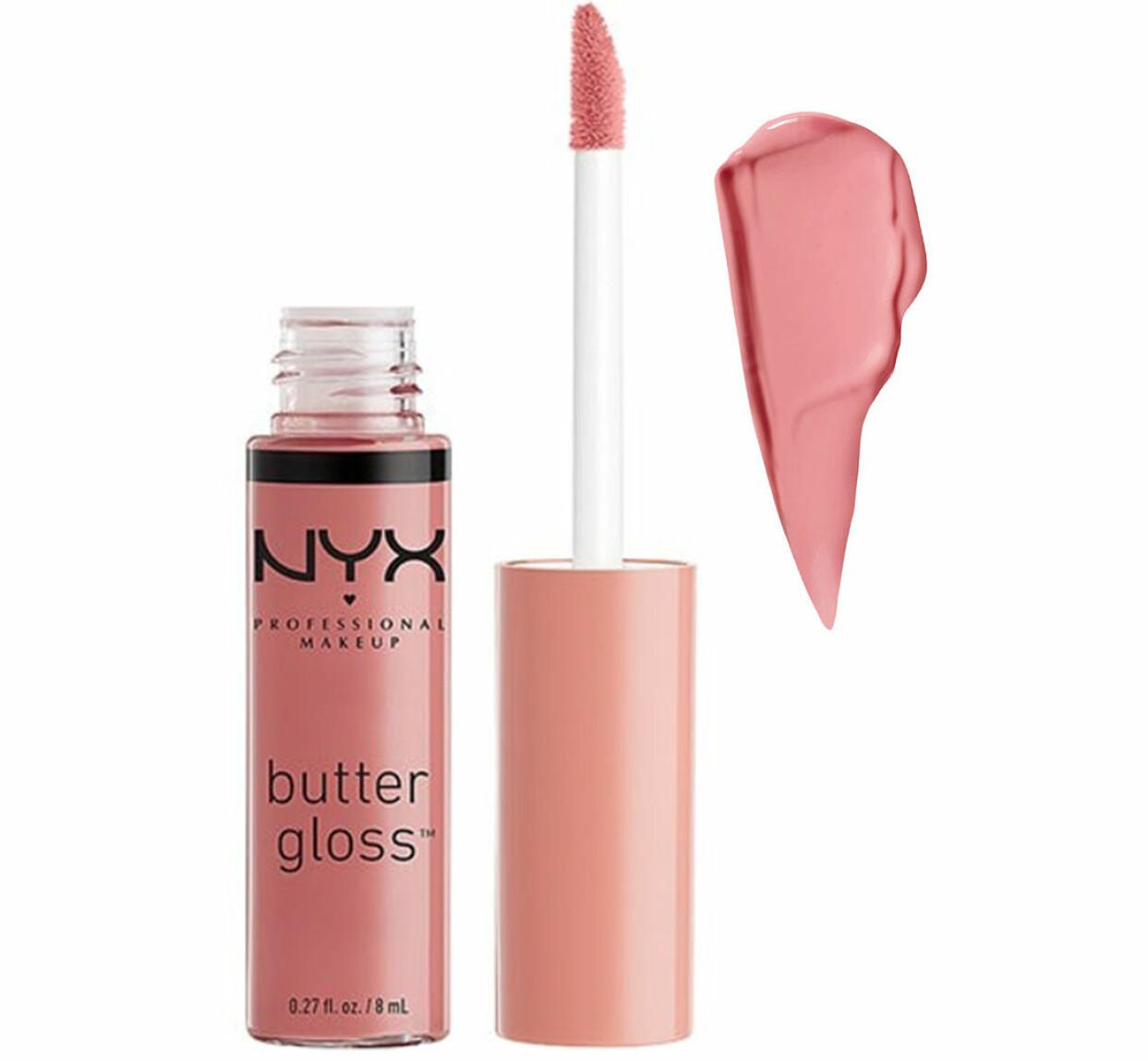 Lipgloss i färgen Tiramisu från Nyx Professional Makeup