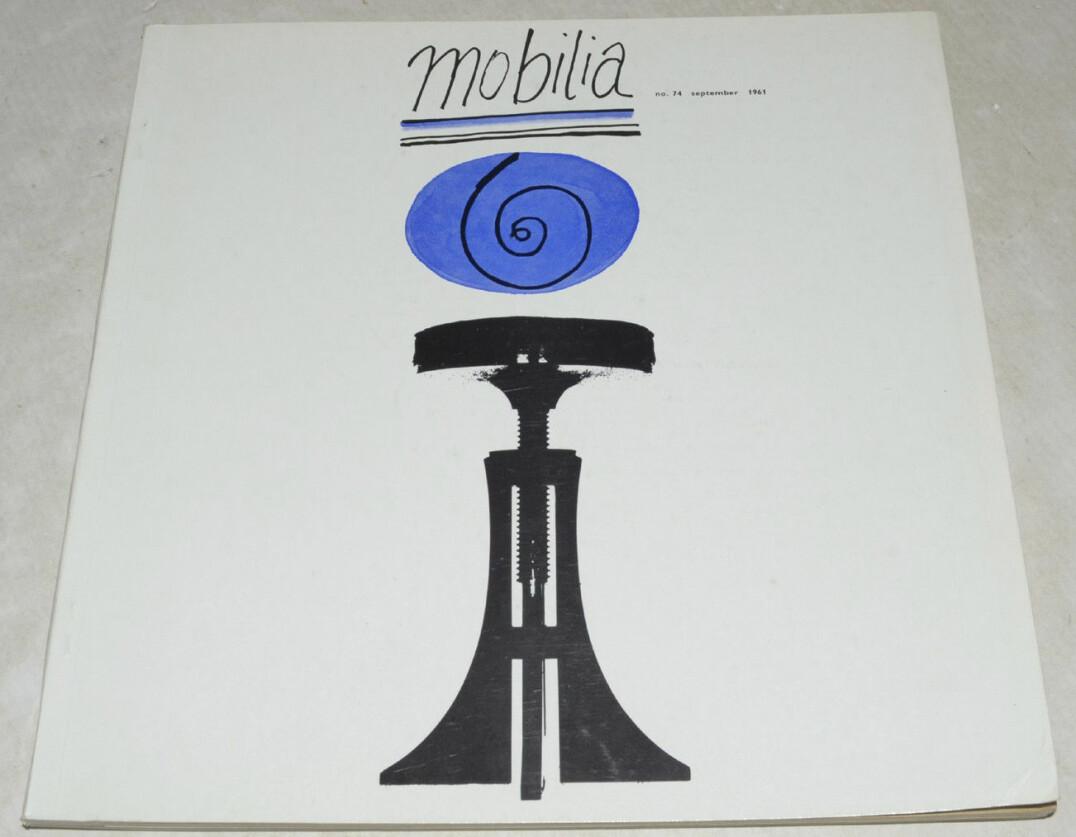 Omslaget till nummer 74 från år 1961 av Mobilia.