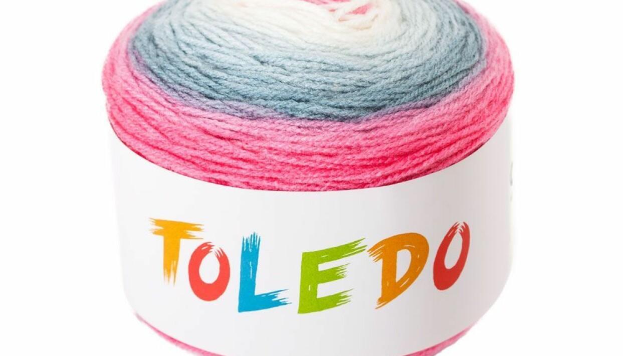 sjalgarn från Toledo i vårens trendigaste färg.