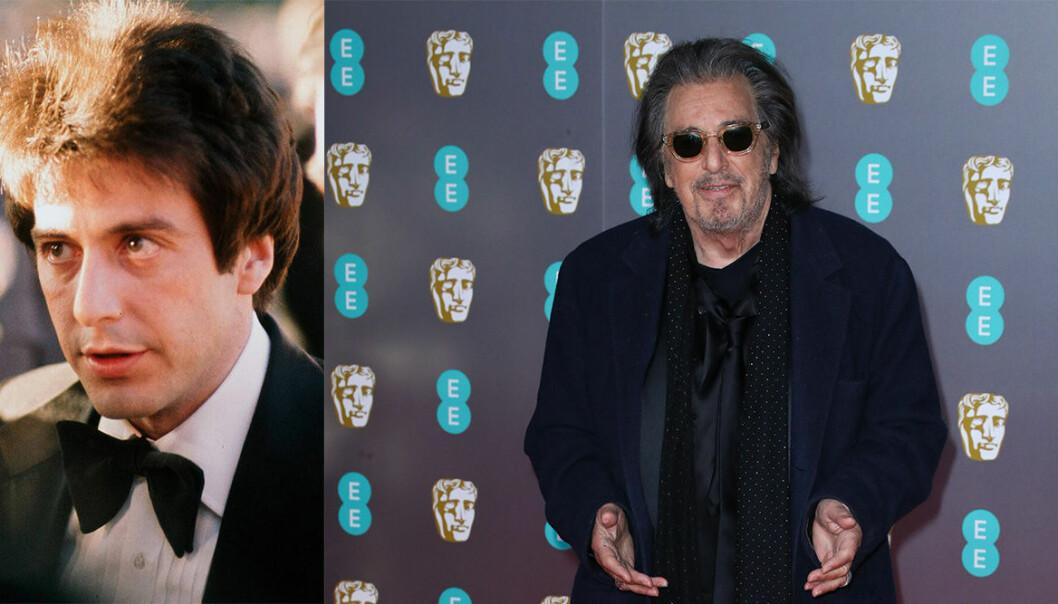 Al Pacino på Oscarsgalan genom åren.