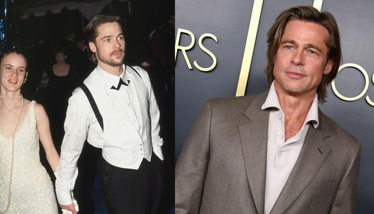 Brad Pitt på Oscarsgalan genom åren.