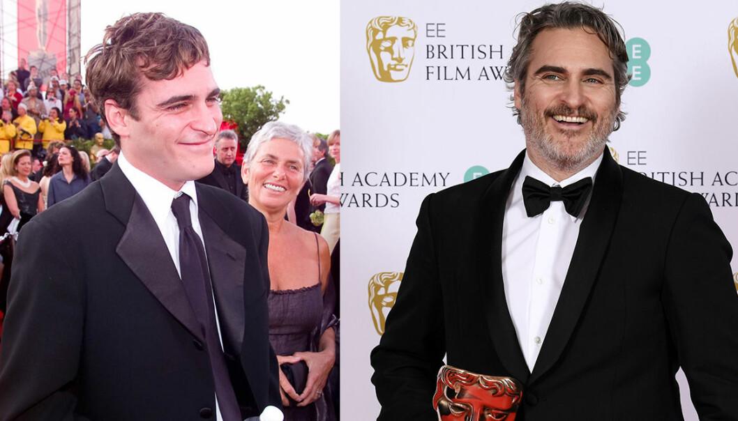 Joaquin Phoenix på Oscarsgalan genom åren.