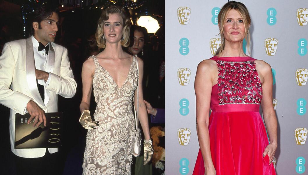 Laura Dern på Oscarsgalan genom åren.