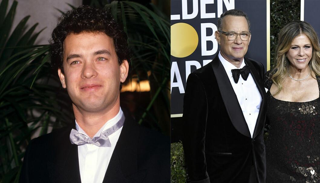Tom Hanks på Oscarsgalan genom åren.