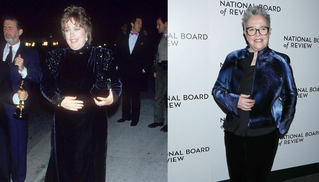 Kathy Bates på Oscarsgalan genom åren.