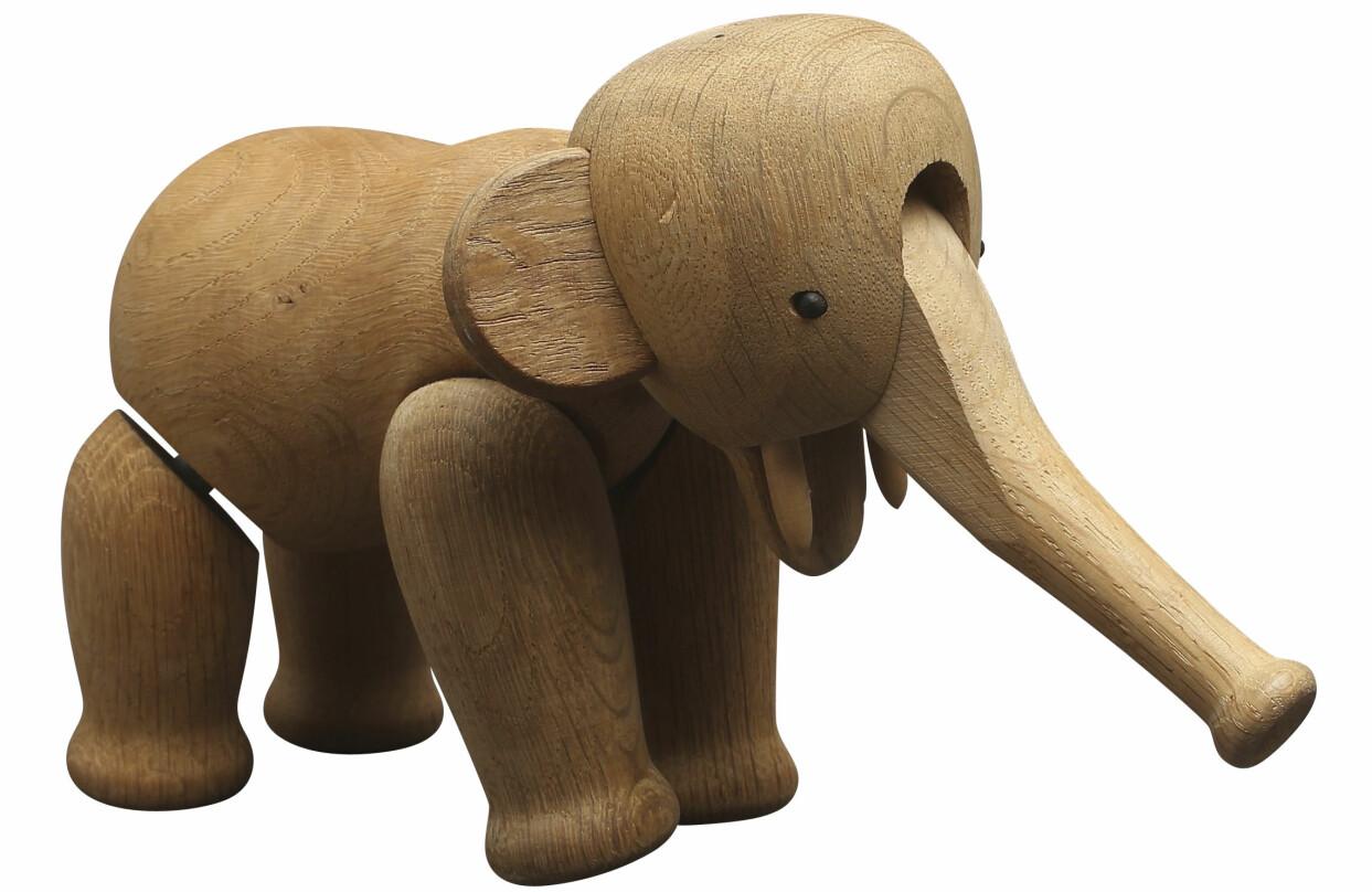 Kaj Bojesens elefant i trä.