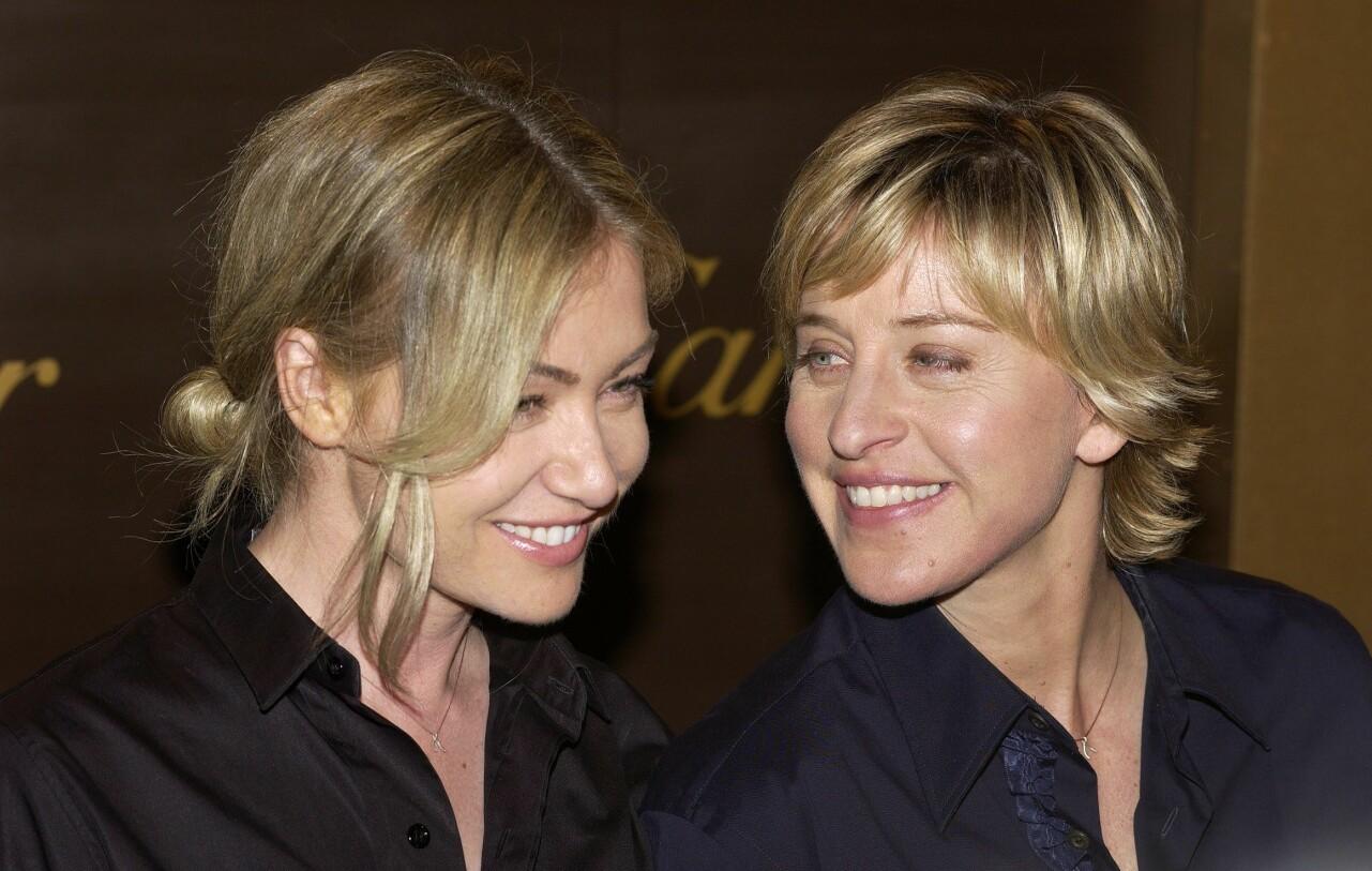 Ellen DeGeneres och Portia di Rossi.