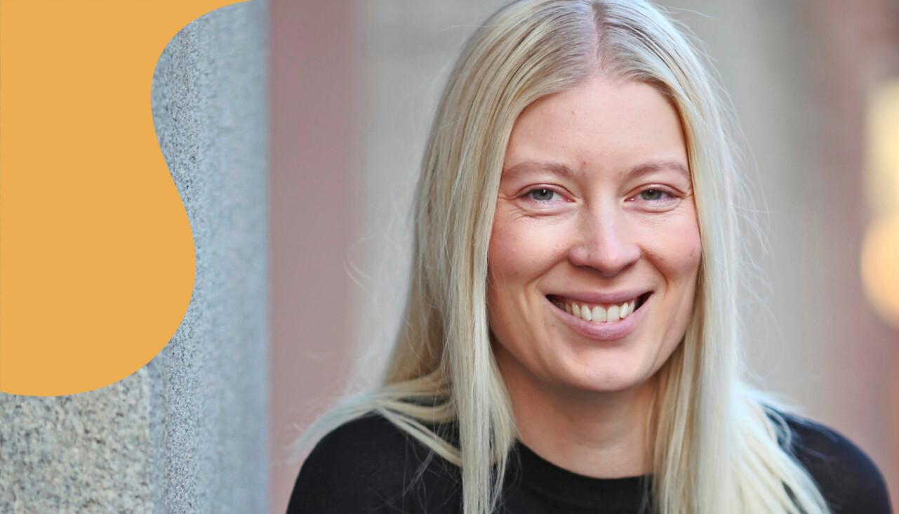 Porträtt av Emma Svensson som berättar hur hon övergavs efter bröllopet – och bestämde sig för att bestiga berg.