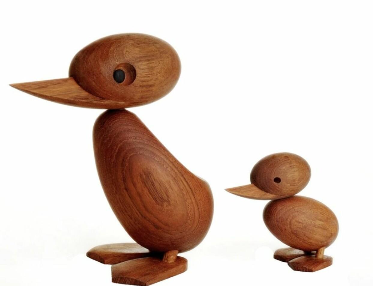 Hans Bøllings duck and duckling