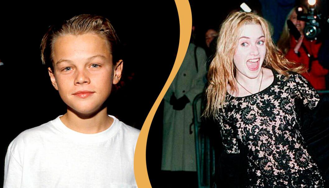 Leonardo DiCaprio och Kate Winslet: Första gången på röda mattan.