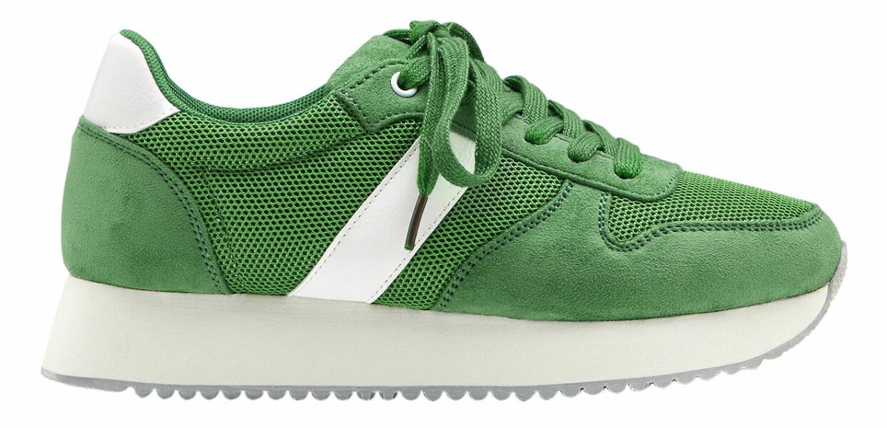 Ärtgröna sneakers från Duffy