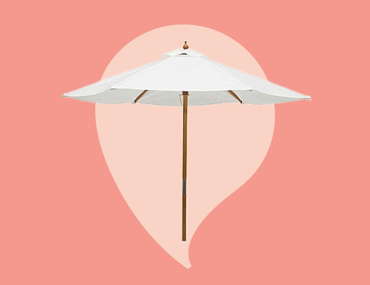 Parasoll från Ellos.