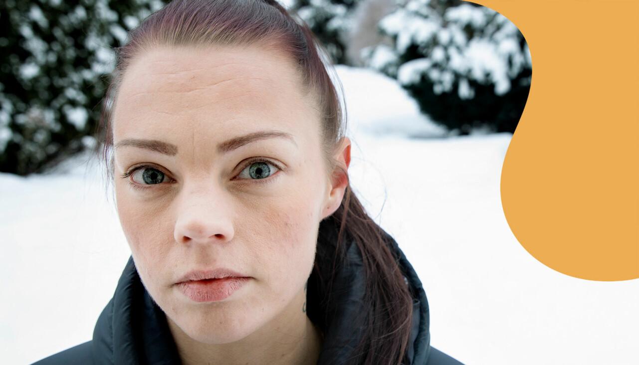 Porträtt av Benedicte som berättar om hur hon tvingades konfrontera sin våldtäktsman i rätten.