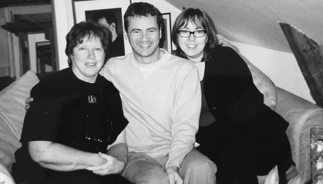 Christer Björkman med familj.