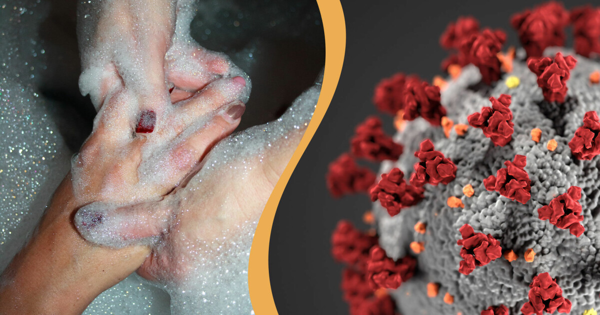 Att tvätta händerna är det bästa skyddet vi har mot spridning av coronaviruset.