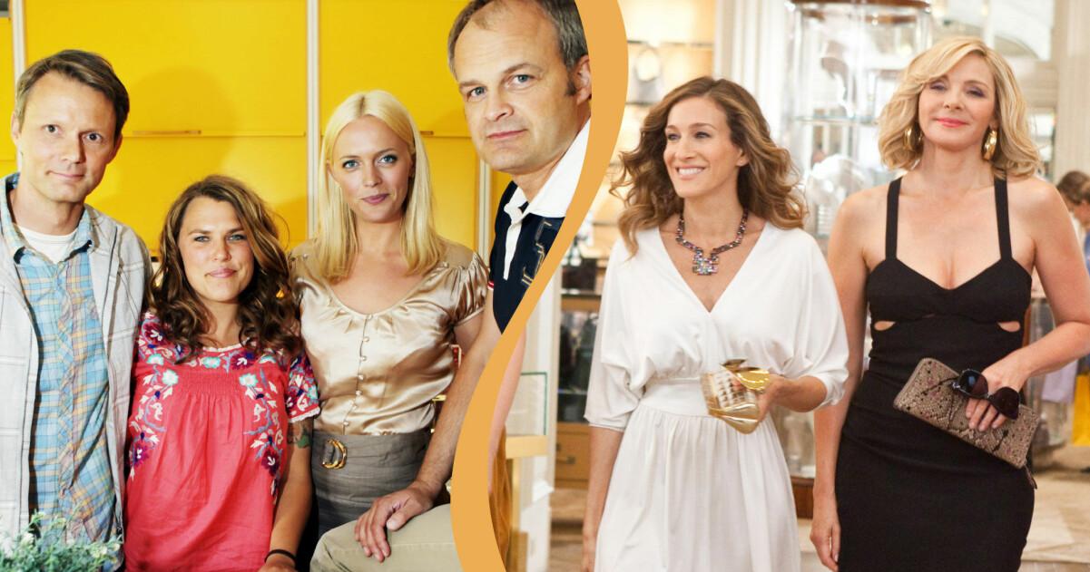 Felix Herngren, Mia Skäringer, Josephine Bornebusch, Johan Rheborg, Sarah Jessica Parker och Kim Cattrall är alla med i populära tv-serier.