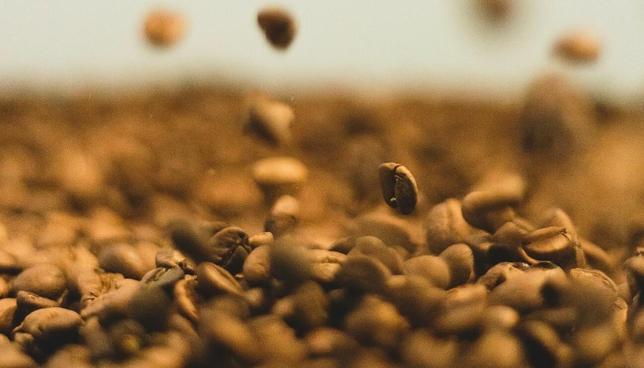 Kaffebönor.
