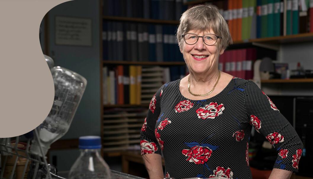 Överläkare och bakteriolog, Agnes Wold.