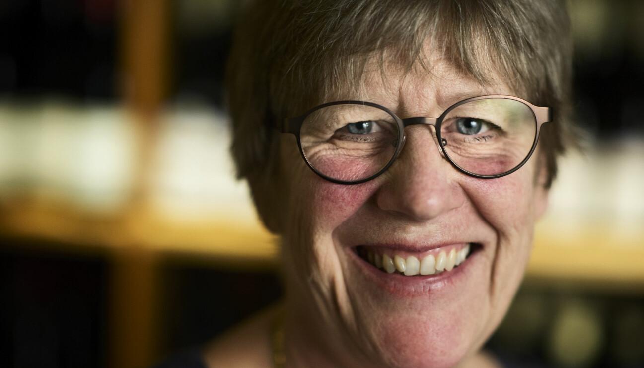 Överläkare och bakteriolog Agnes Wold.